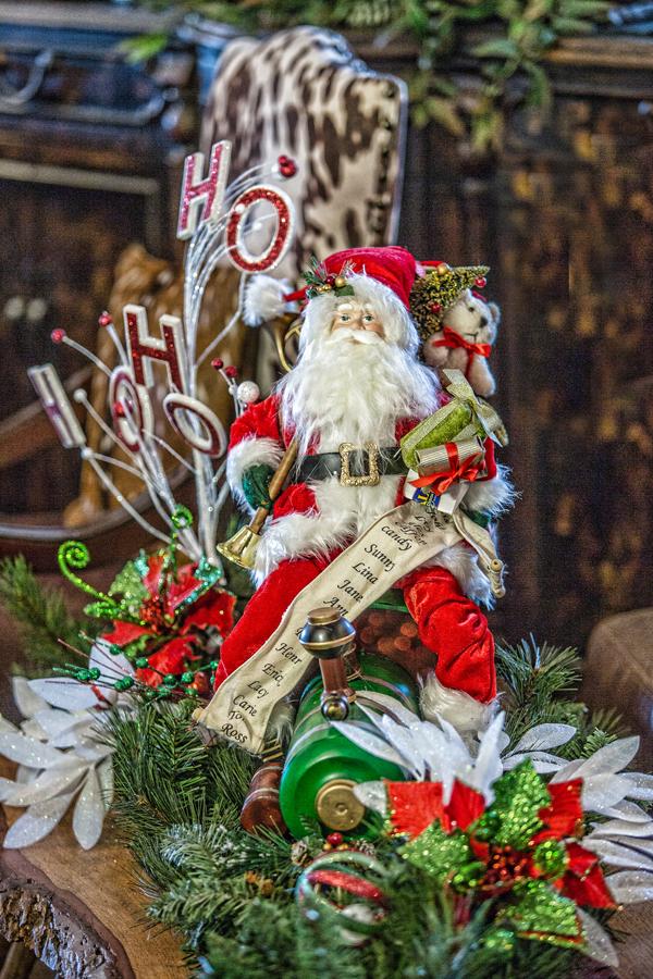 Christmas Santa Seasonal Decor
