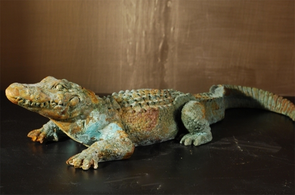 Gator-Sculpture