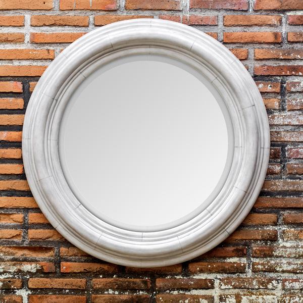 Round-White-Mirror