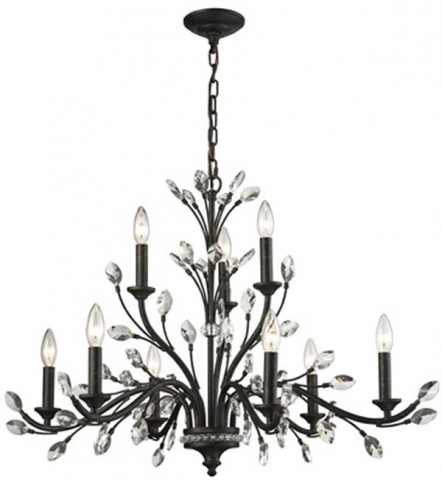 hall lighting design chandeliers crystal evolve 4 light