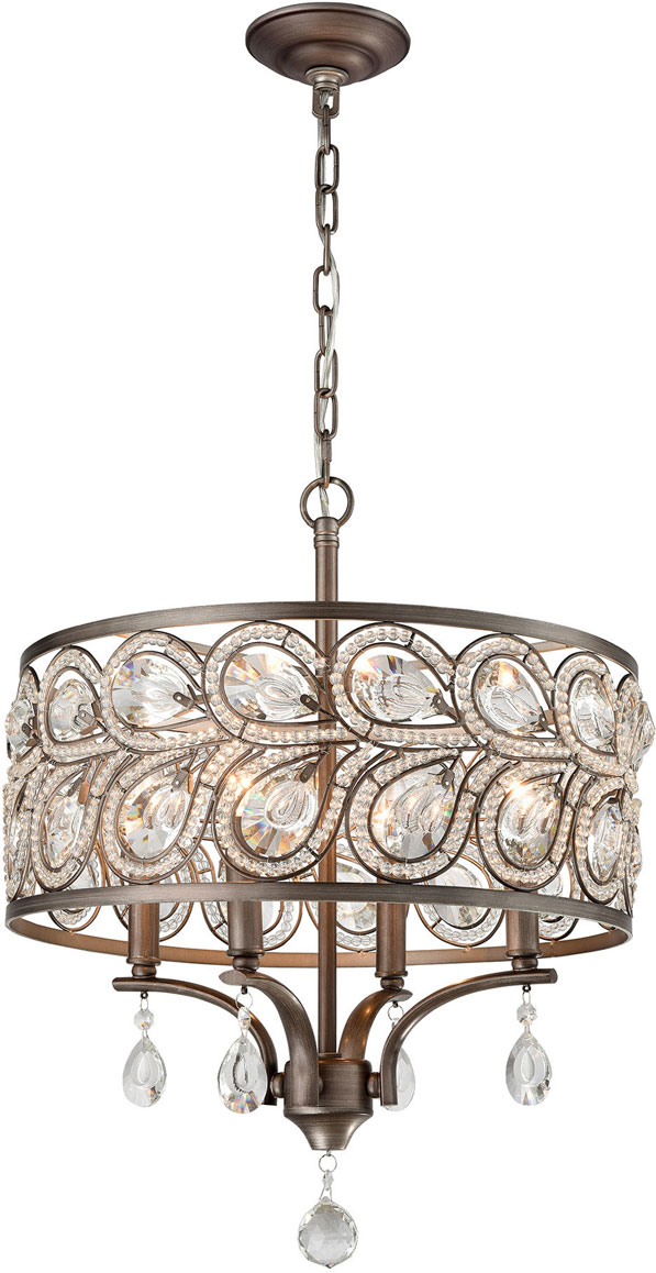 Hall Lighting & Design - Chandeliers - Branches, crystal, 9 light
