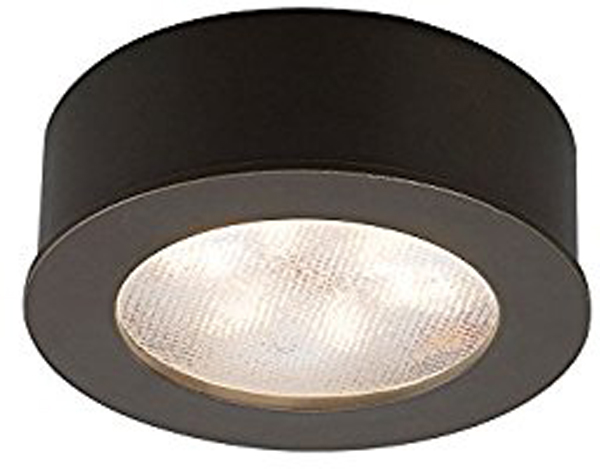 Hall LIghting & Design - Under Cabinet Lighting - LED puck, mount, recessed, button light, 3000k
