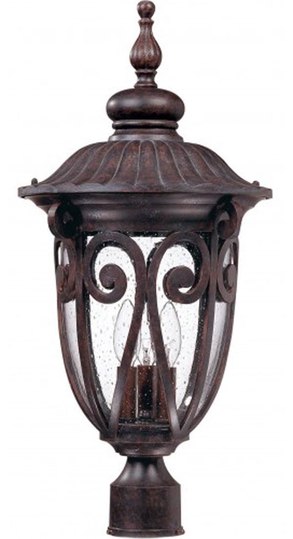 GHall Lighting & Design - Exterior Lighting - post lantern, 3 light