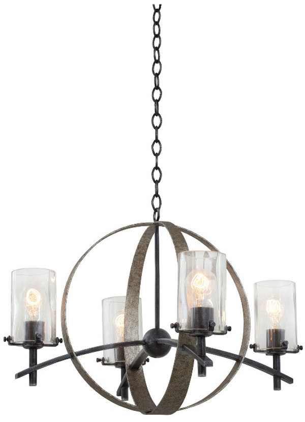 Hall Lighting & Design - Chandeliers - Irvine 4 light