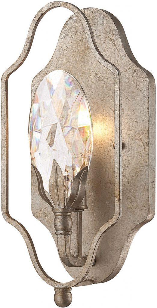 Hall Lighting & Design - Sconces - Hyde Park, 1 light, crystal, champaigne finish