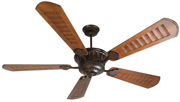 "Hall Lighting & Design - Exterior Fans - 70"" oil rubbed bronze finish"