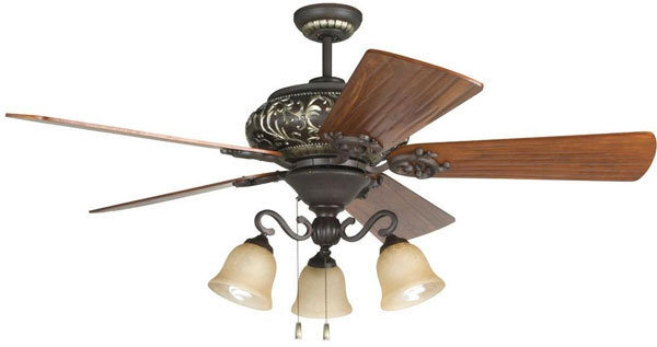 hall lighting design interior ceiling fans 52 aged bronze