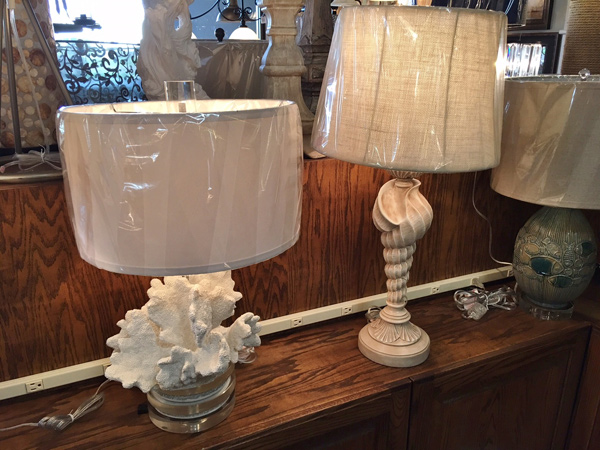 Hall-Lighting-&-Design---Coral-&-Shell-Table-Lamps