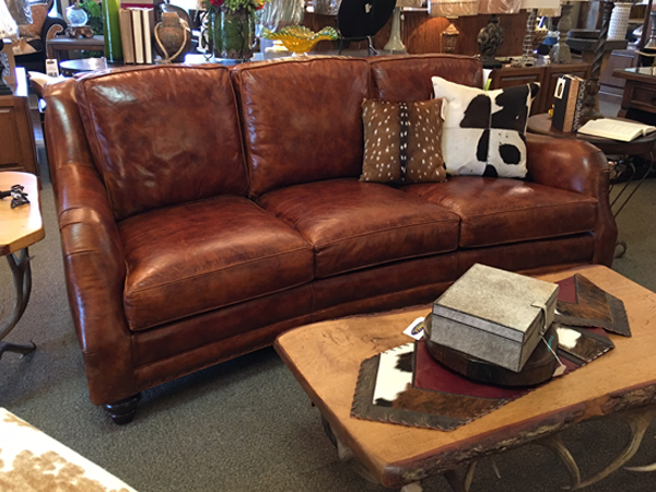 Sofa - leather sofa sundance ranch