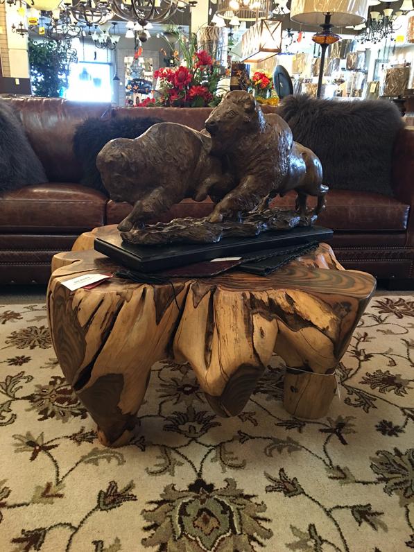 Bison Buffalo artwork statue