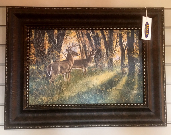 Wildlife-Deer-Painting