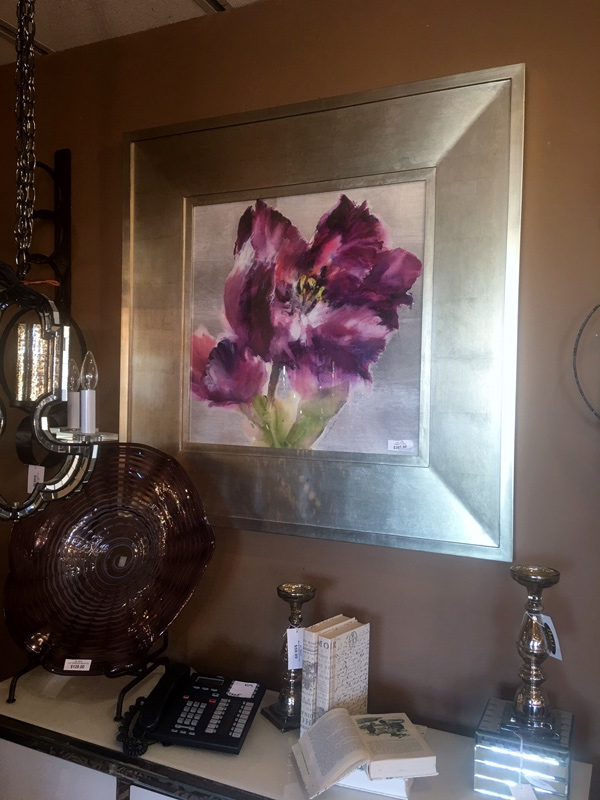 Purple-Flower-Painting
