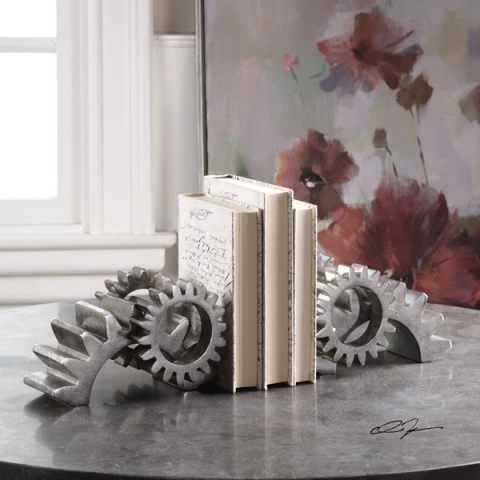 Industrial-Gear-Bookends