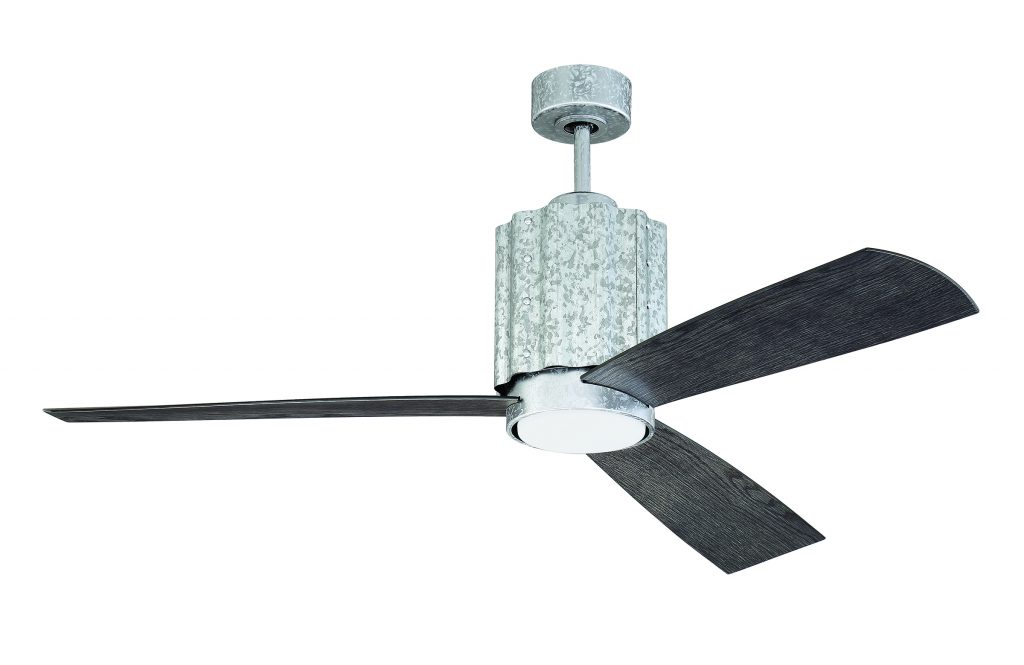 Exterior Galvanized 3 blade ceiling fan