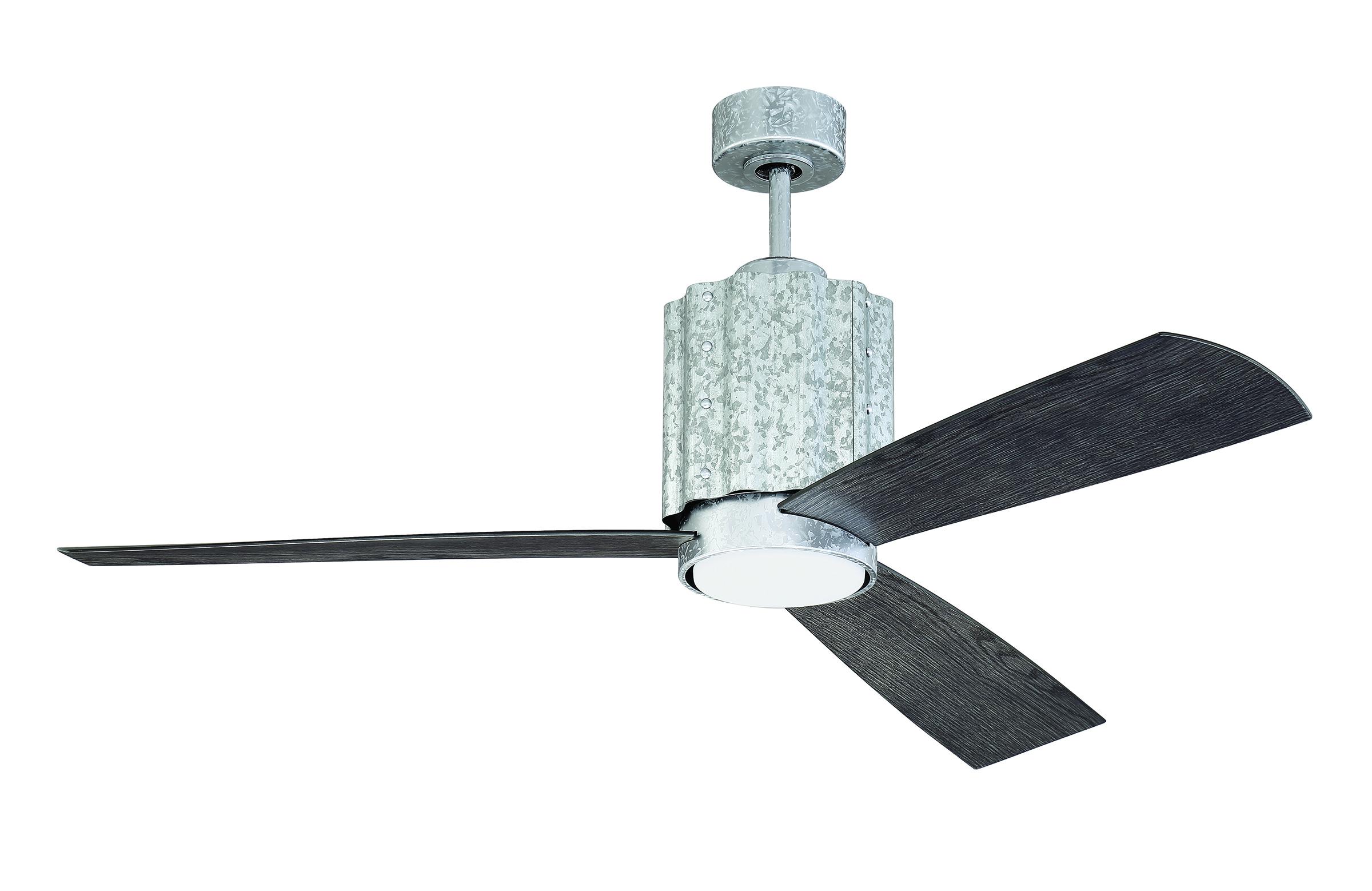 Exterior Galvanized 3 blade ceiling fan
