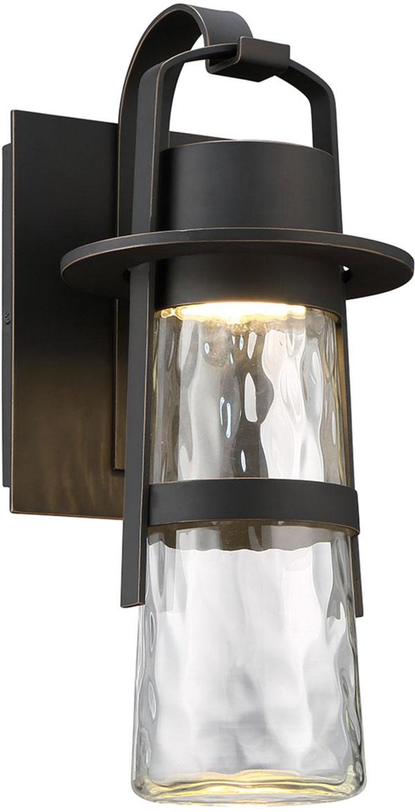 Hall Lighting & Design - Exterior Lighting - 3000K LED, hammered clear glass