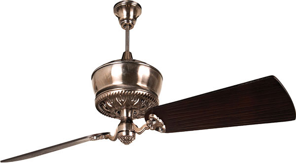 "Hall Lighting & Design - Interior Fans - 52"" Oilder Bronze, two blades"