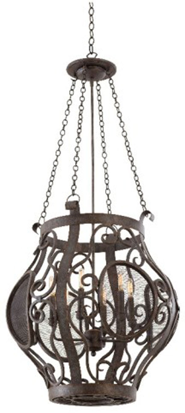 Hall lighting design center chandeliers a wide selection in store hall lighting design chandeliers isabel 6 light pendant iron industrial arubaitofo Image collections